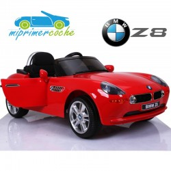 BMW Z8 ROJO  12v mando parental 2.4G