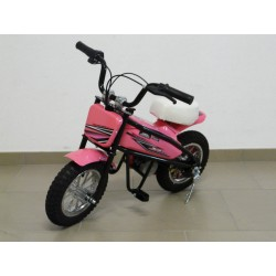 Moto eléctrica para niños 24V 200W color rosa