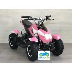 Quads eléctrico infantil COBRA 36V  800W color blanco/rosa