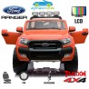 FORD RANGER PICK-UP ROJO METALIZADO 4X4 12V PANTALLA MP4 - Versión Superior