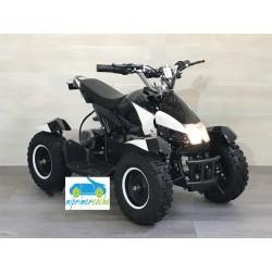 Quads eléctrico infantil COBRA 36V 800W color negro/blanco