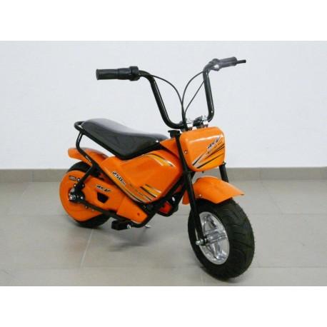 Moto eléctrica para niños 24V 250W color naranja