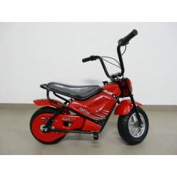 Moto eléctrica para niños 24V 250W color rojo