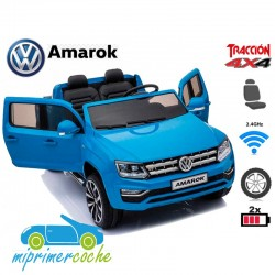 VOLKSWAGEN AMAROK 12V Azul 2 Plazas 2.4G