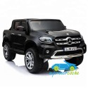 MERCEDES PICKUP X CLASS 2 PLAZAS 12V Negro 4X4  MP4  2.4G