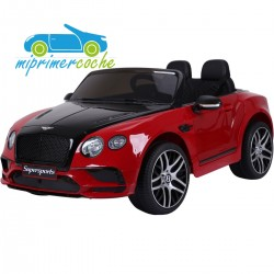 BENTLEY CONTINENTAL SUPERSPORTS ROJO 12V  2.4G