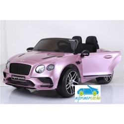 BENTLEY CONTINENTAL SUPERSPORTS ROSA 12V  2.4G