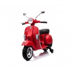 Moto Eléctrica para niños VESPA PIAGGIO 12V color rojo