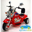 Trimoto CHOPER 12V color rojo 12V