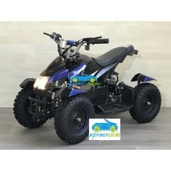 Quads eléctrico infantil COBRA 36V 800W color negro/azul