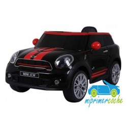 MINI PACEMAN negro 12v mando parental 2.4G