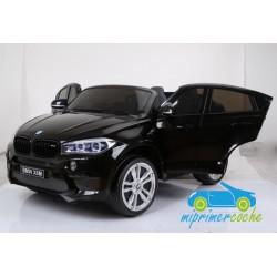 BMW X6M NEGRO METALIZADO  12v 2 plazas 2.4G