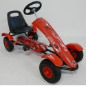 Kart infantil a pedales  SPORT MEDIUM color rojo