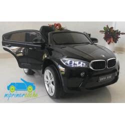 BMW X6M NEGRO METALIZADO  12v 1 plaza 2.4G