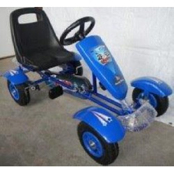 Kart infantil a pedales SPORT JUNIOR color azul