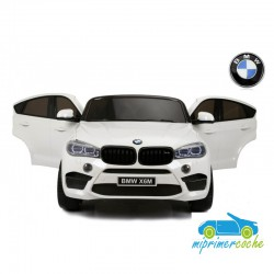 BMW X6M blanco 12v 1 plaza 2.4G