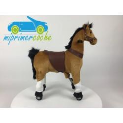 PonyCycle CABALLO MARRÓN pequeño