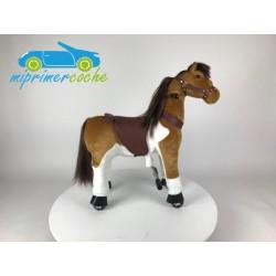 PonyCycle CABALLO REAL MARRÓN pequeño
