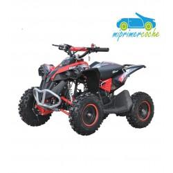 Quads eléctrico infantil COBRA 36V 1000W color negro/rojo