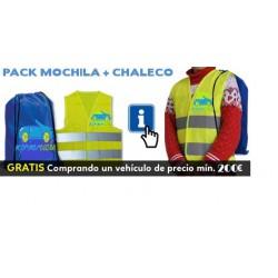 Pack MOCHILA +CHALECO DE SEGURIDAD