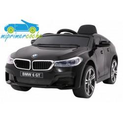 BMW 6 GT NEGRO METALIZADO  12v 1 plaza 2.4G