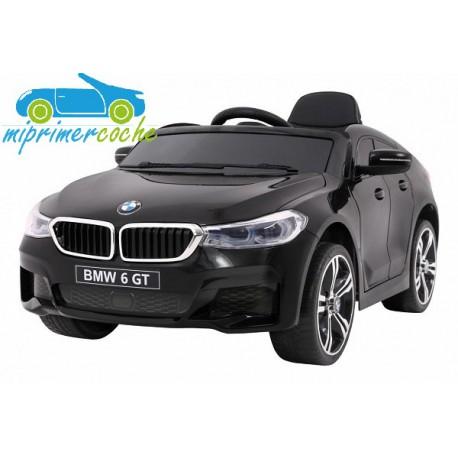 BMW 6 GT NEGRO  12v 1 plaza 2.4G