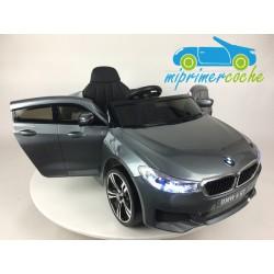 BMW  6 GT GRIS  12v 1 plaza 2.4G
