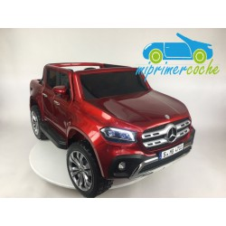 MERCEDES PICKUP X CLASS 2 PLAZAS 4x4 MP4 12V Rojo  2.4G