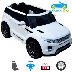 Coche eléctrico para niños Evoque Urban Plus Style 12V  mando a distancia 2.4G Neumáticos Caucho