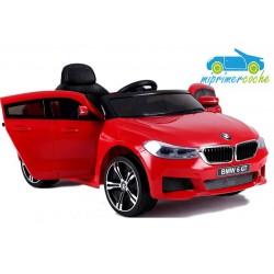 BMW  6 GT ROJO  12v 1 plaza 2.4G
