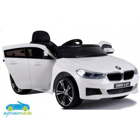 BMW  6 GT BLANCO  12v 1 plaza 2.4G