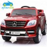 MERCEDES ML350 ROJO METALIZADO 12V con mando a distancia
