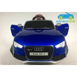 AUDI RS5 azul 12v 2.4G con capota