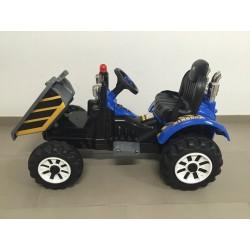 Tractor Eléctrico para Niños NEW HOLLANDE STYLE CON VOLQUETE 12v