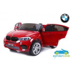 BMW X6M Rojo 12v 1 plaza 2.4G