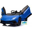 LAMBORGHINI AVENTADOR SVJ Azul Pintado 12V  control parental2.4G