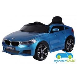 BMW  6 GT AZUL METALIZADO  12v 1 plaza 2.4G