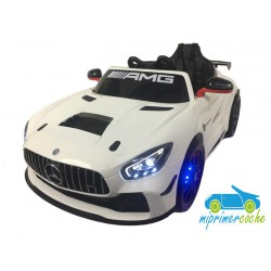 MERCEDES AMG GT-4 BLANCO 12V MP4   2.4G