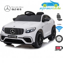 MERCEDES BENZ GLC 63 S Blanco 12V 2.4G