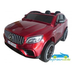 MERCEDES BENZ GLC 63 S ROJO METALIZADO 2 plazas 4X4  MP4 12V 2.4G