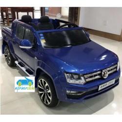 VOLKSWAGEN AMAROK 12V Azul Metalizado 2 Plazas 2.4G