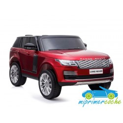 LAND ROVER VOGUE ROJO 2 plazas  MP4 12V 2.4G