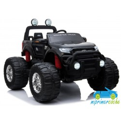 FORD MONSTER TRUCK 1 PLAZA 12V 4X4 NEGRO METALIZADO