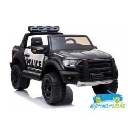 FORD RANGER RAPTOR NEGRO POLICE 2 PLAZAS 12V
