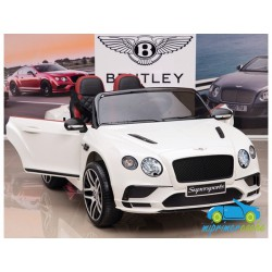 BENTLEY CONTINENTAL SUPERSPORTS BLANCO 12V  2.4G