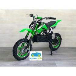 Moto eléctrica DIRK 36V 800W color verde
