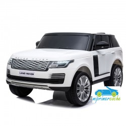 LAND ROVER VOGUE BLANCO 2 plazas 4X4 12V 2.4G
