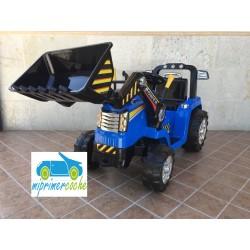Tractor Eléctrico para Niños NEW HOLANDE STYLE 12v