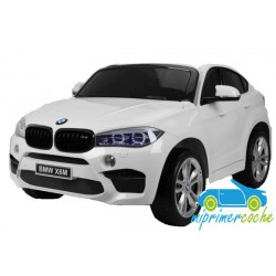 BMW X6M BLANCO 12v 2 plazas 2.4G