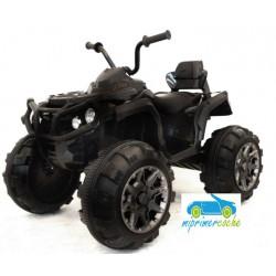 Quads Eléctrico para Niños 906D 12V Negro con mando parental 2.4G